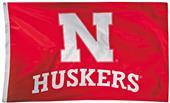 Collegiate Nebraska 2-Sided Nylon 3'x5' Flag