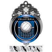 "Hasty 3"" Tiara Medal 2"" Legacy Volleyball Mylar"