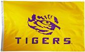 Collegiate LSU 2-Sided Nylon 3'x5' Flag