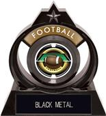 """Hasty Awards Eclipse 6"""" Saturn Football Trophy"""