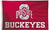 Collegiate Ohio State 2-Sided Nylon 3'x5' Flag
