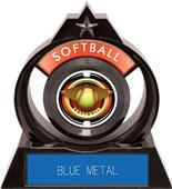 "Hasty Awards Eclipse 6"" Saturn Softball Trophy"