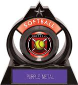"Hasty Awards Eclipse 6"" Legacy Softball Trophy"