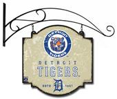 Winning Streak MLB Tigers Vintage Tavern Sign