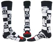 Red Lion Checkmate Over-The-Calf Knee High Socks