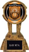 "Hasty Awards 10"" Sky Tower Resin Basketball Trophy"