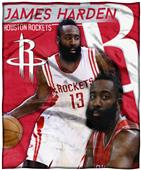 Northwest Rockets James Harden Silk Touch Throw
