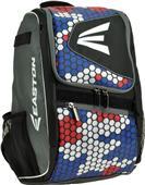 Easton E100P Baseball Bat Backpacks (Holds 2 Bats)