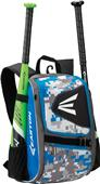 Easton E100P Baseball Bat Backpacks (Holds 2 Bats)