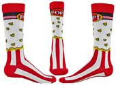 Wright Avenue Popcorn Novelty Cotton Crew Socks