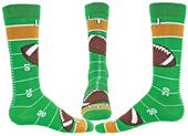 Wright Avenue Touchdown Novelty Cotton Crew Socks