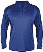 Badger Sport Pro Heather Sport 1/4 Zip Jacket
