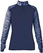 Badger Sport Ladies Sport Blend 1/4 Zip Jacket
