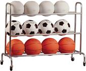 Athletic Specialties Portable Ball Cart
