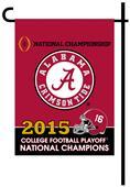 Collegiate Alabama CFP Champ 2-Sided Garden Flag