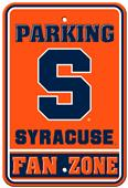 "Collegiate Syracuse 12"" x 18"" Plastic Parking Sign"