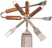 Collegiate Syracuse 4-Piece BBQ Set