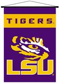 Collegiate LSU Indoor Banner Scroll