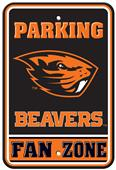 Collegiate Oregon State Plastic Parking Sign