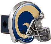 NFL Los Angeles Rams Metal Helmet Hitch Cover