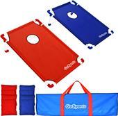 P&P Imports PVC Portable Cornhole Set