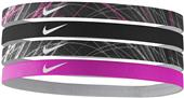 NIKE Girl's Assorted Hairbands (4 pack)