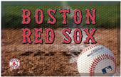 Fan Mats MLB Red Sox Scraper Ball or Camo Mats