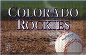Fan Mats MLB Rockies Scraper Ball or Camo Mats