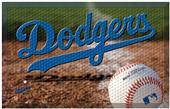 Fan Mats MLB Dodgers Scraper Ball or Camo Mats