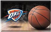 Fan Mats NBA Thunder Scraper Ball Mat