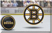 Fan Mats NHL Bruins Scraper Puck or Camo Mats