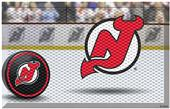 Fan Mats NHL Devils Scraper Puck or Camo Mats