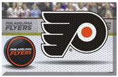 Fan Mats NHL Flyers Scraper Puck or Camo Mats