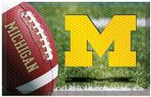 Fan Mats NCAA Michigan Scraper Ball or Camo Mats