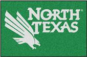 Fan Mats NCAA Univ. of North Texas Starter Mat
