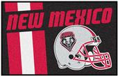 Fan Mats NCAA Univ. of New Mexico Starter Mat