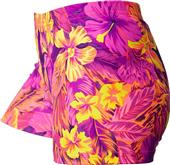 Gem Gear Compression Aloha Polyspandex Shorts