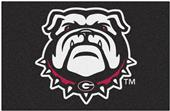 Fan Mats NCAA Univ. of Georgia Black Starter Mat