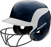 Worth Legit Sr JR Batter's Helmets w/ Faceguard