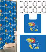 Northwest NCAA Kansas 15-Piece Bath Set