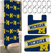 Northwest NCAA Michigan 15-Piece Bath Set