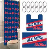 Northwest NCAA Mississippi 15-Piece Bath Set