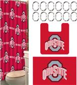 Northwest NCAA Ohio State 15-Piece Bath Set