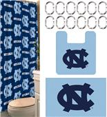 Northwest NCAA UNC 15-Piece Bath Set