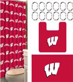 Northwest NCAA Wisconsin 15-Piece Bath Set