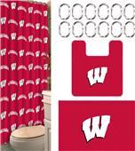 Northwest NCAA Wisconsin 15-Piece Bath Set