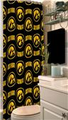 Northwest NCAA Iowa Shower Curtain