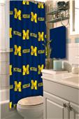 Northwest NCAA Michigan Shower Curtain