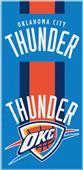 Northwest NBA Thunder Zone Read Beach Towel