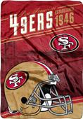 Northwest NFL 49ers Stagger Oversized Throw